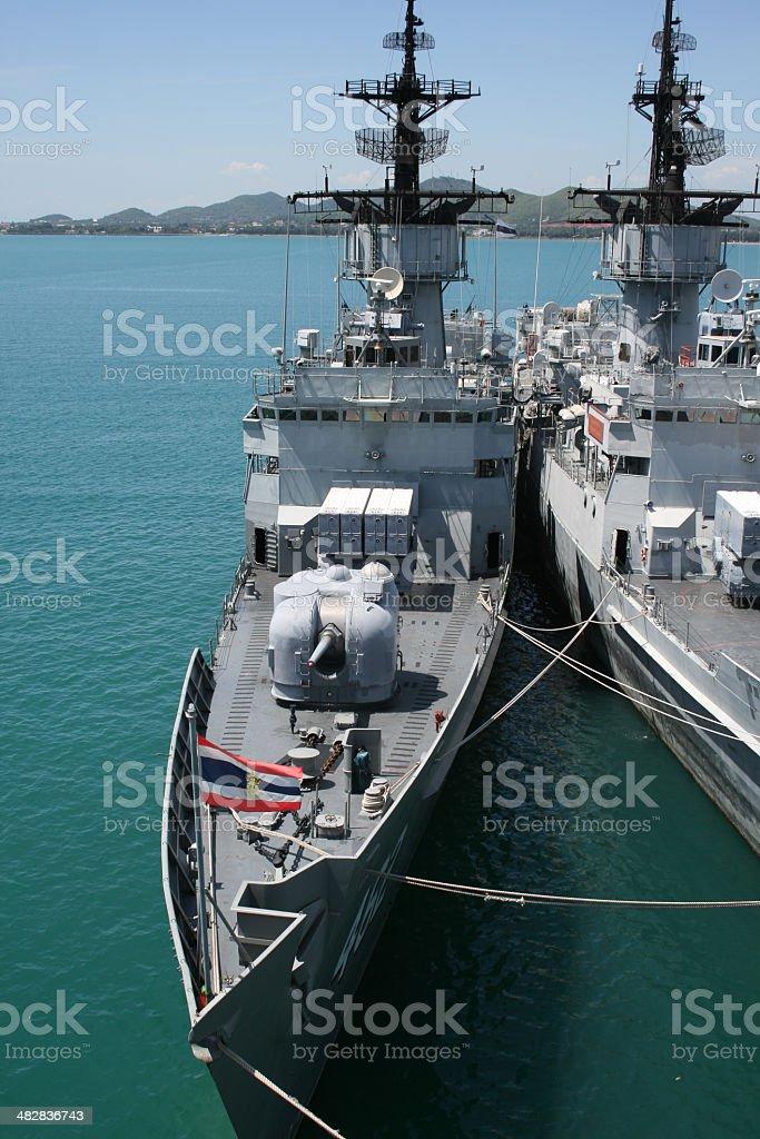 Warship 2 stock photo