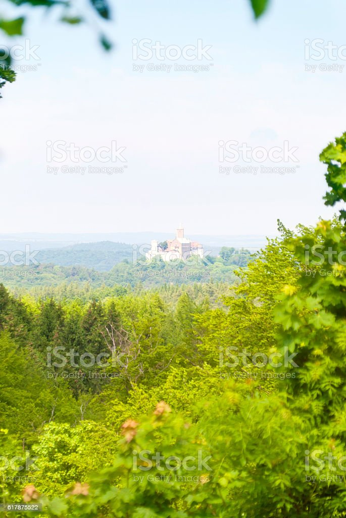 Wartburg View stock photo