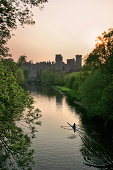 Warwick Castle at Sunset