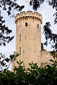 Warwick Castle Tower, Warwick, Warwickshire, England, UK.