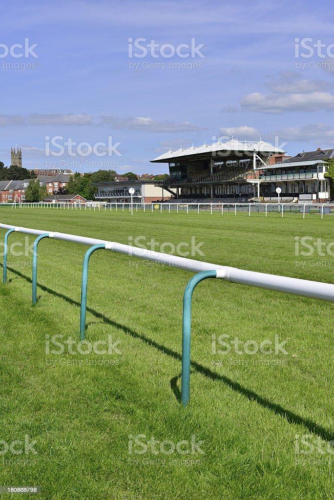 warwick racecourse royalty-free stock photo