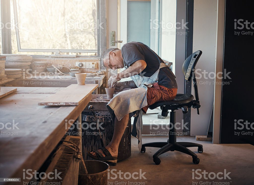 I was crafty when crafty wasn't cool stock photo