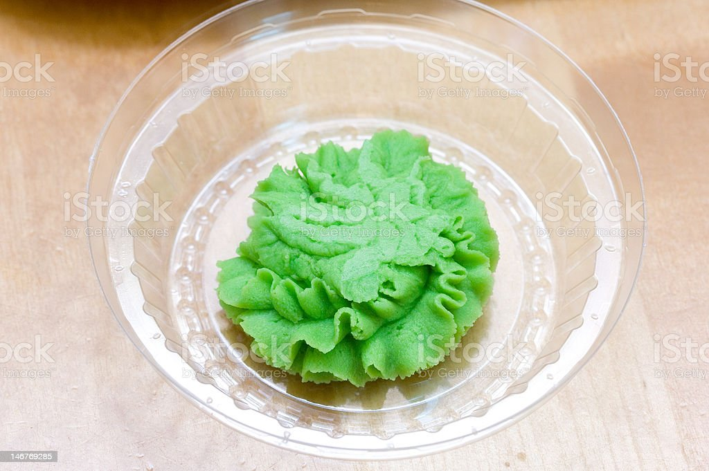 wasabi royalty-free stock photo
