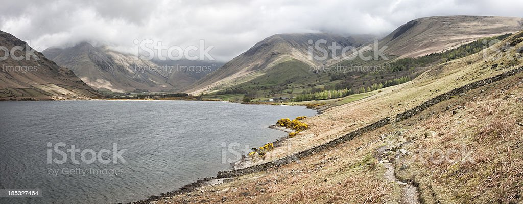 Wasdale Head And Wast Water stock photo