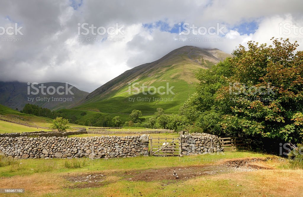 Wasdale Head royalty-free stock photo
