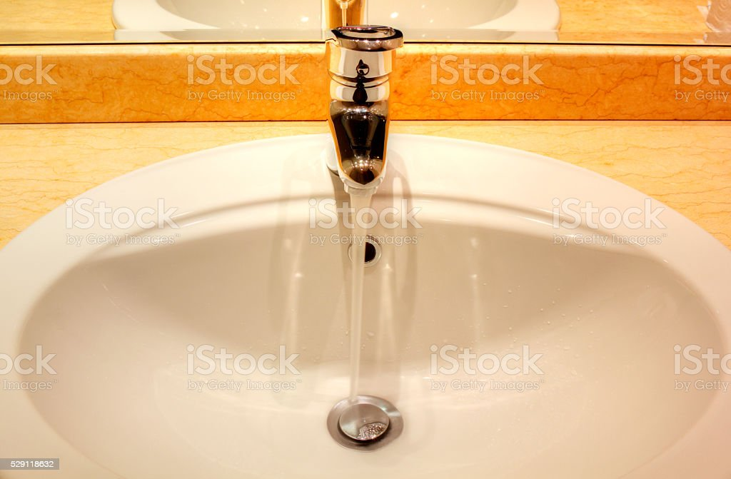 Wash basin stock photo