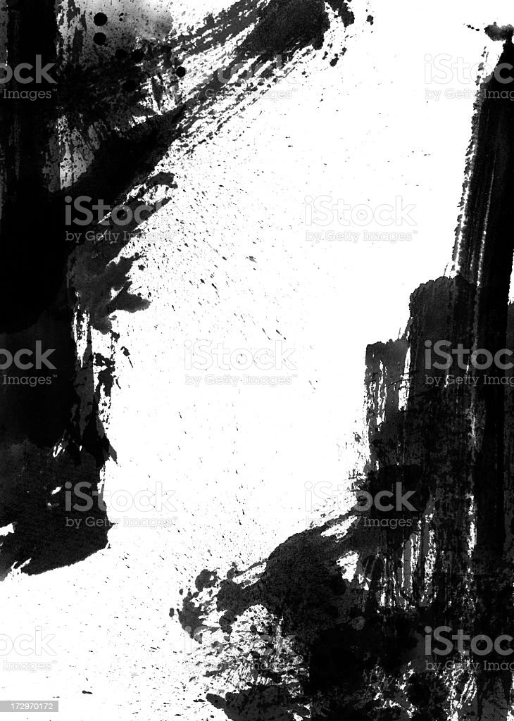 Wash Painting Background stock photo