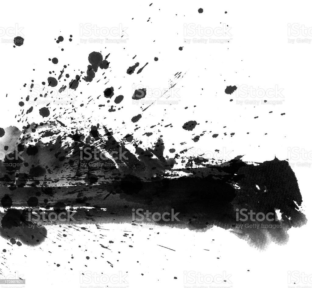 Wash Painting Background royalty-free stock photo