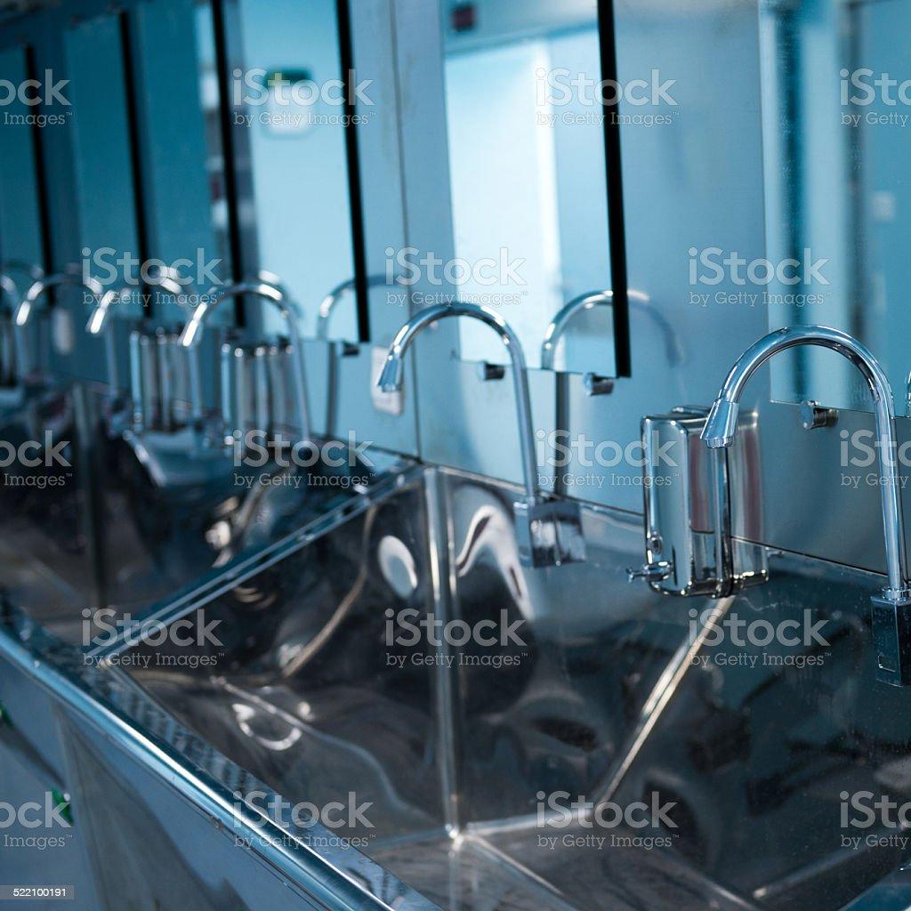 wash station stock photo