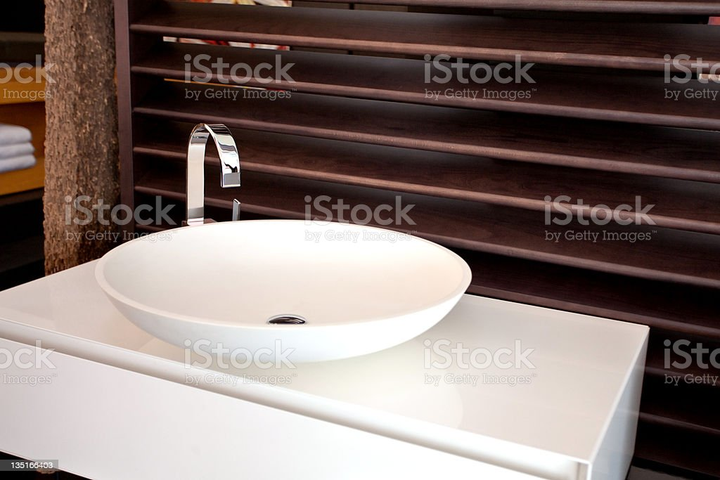 Washbasin stock photo