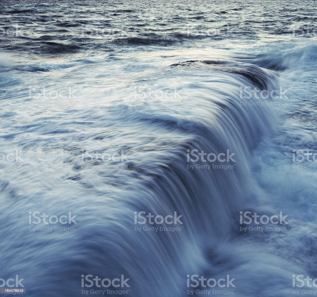 Washed Point royalty-free stock photo