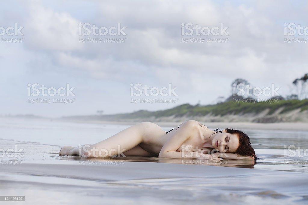 Washed up royalty-free stock photo