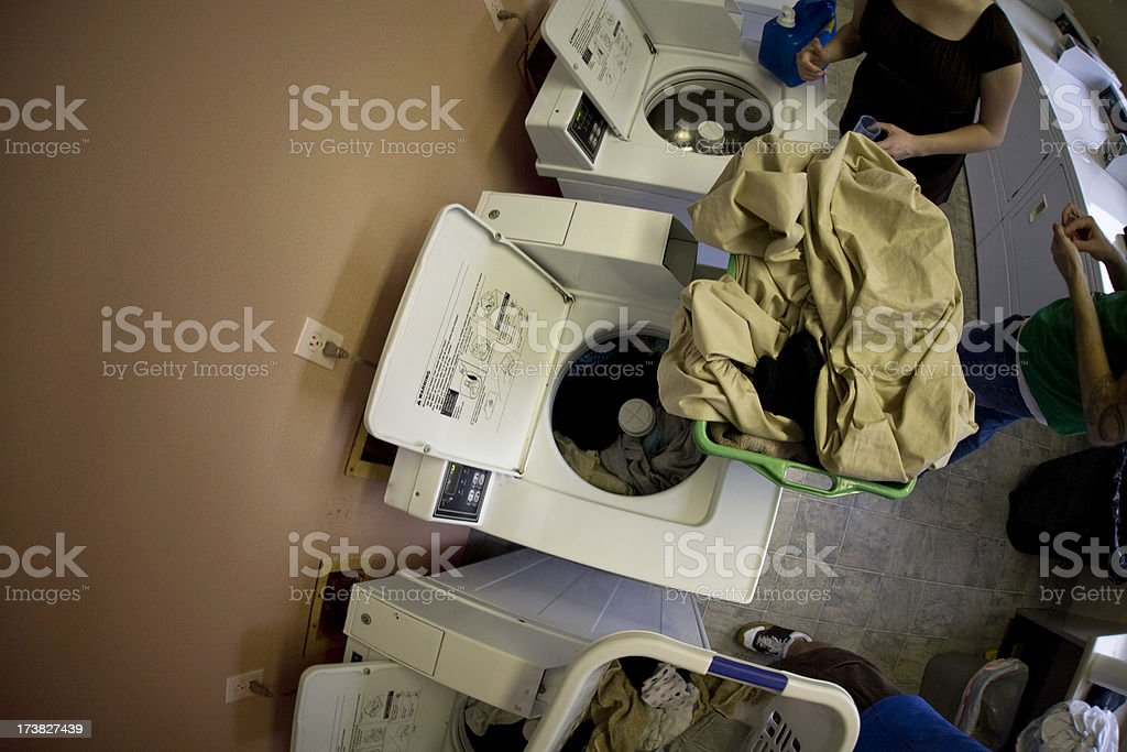 Washer Machines and Laundry Day royalty-free stock photo