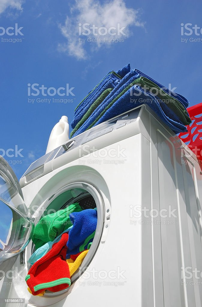 Washer royalty-free stock photo