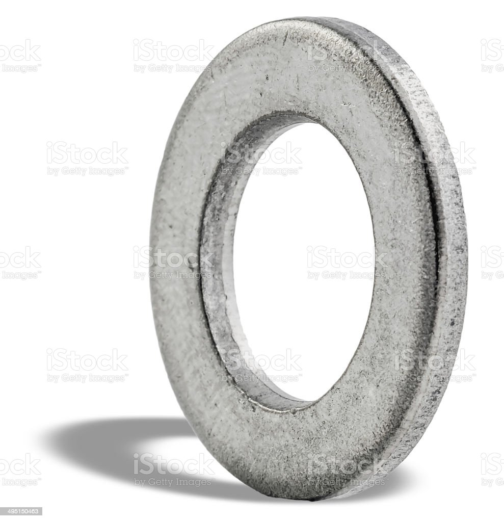 Washers stock photo