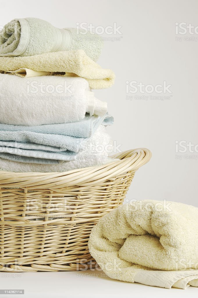 Washing Basket... stock photo
