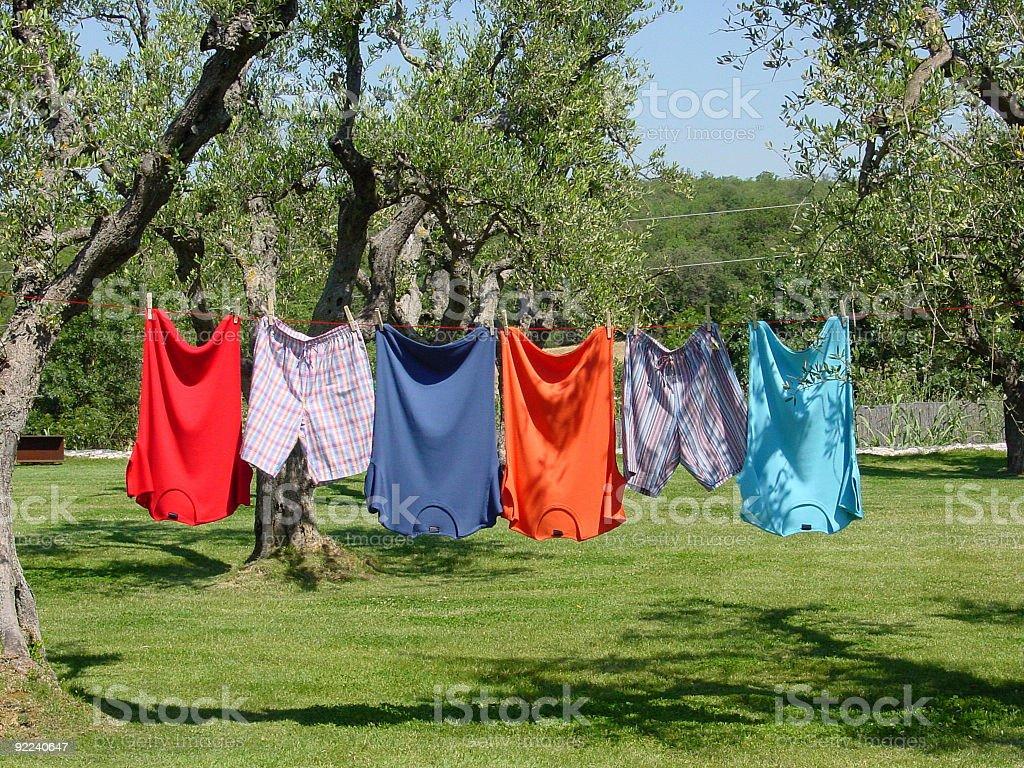 washing day royalty-free stock photo