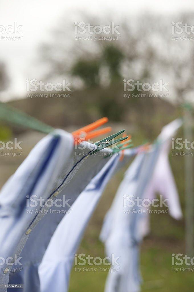 washing line stock photo