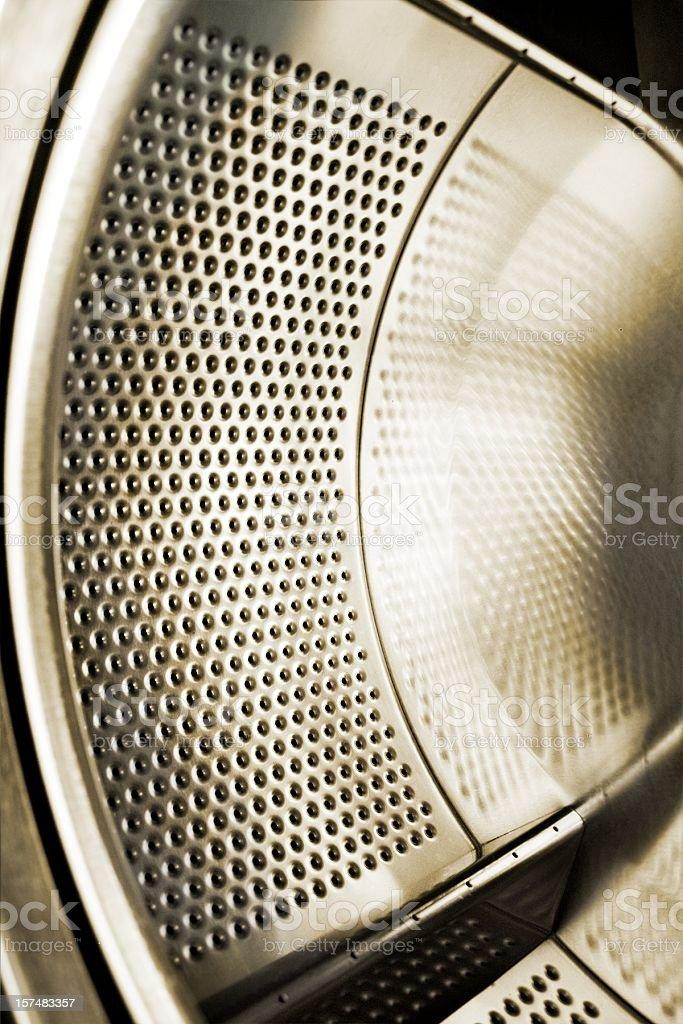 Washing machine drum royalty-free stock photo