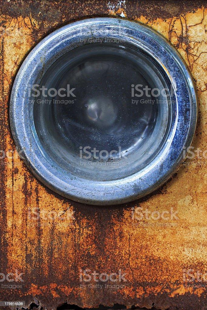 washing machine old Background royalty-free stock photo