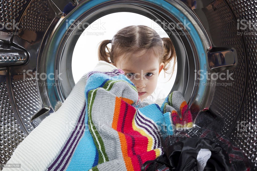 Washing machine royalty-free stock photo