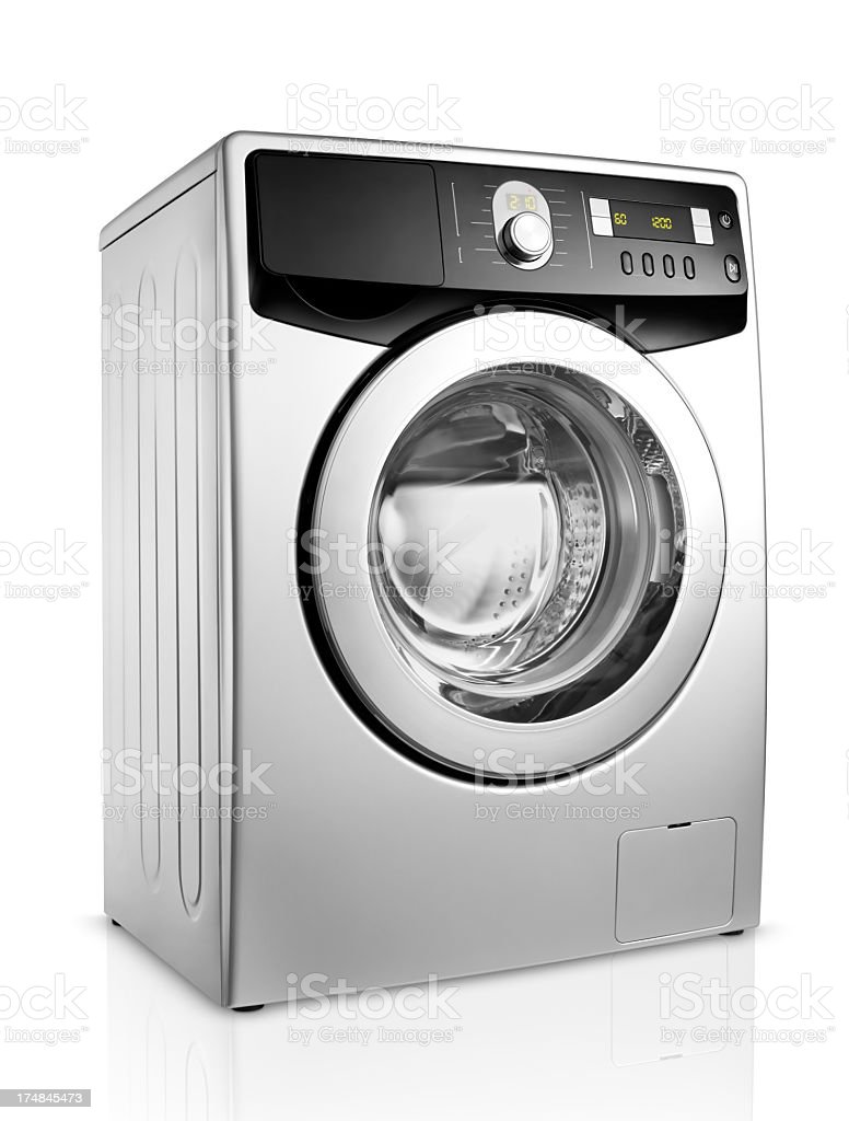 Washing Machine+Clipping Path (Click for more) stock photo