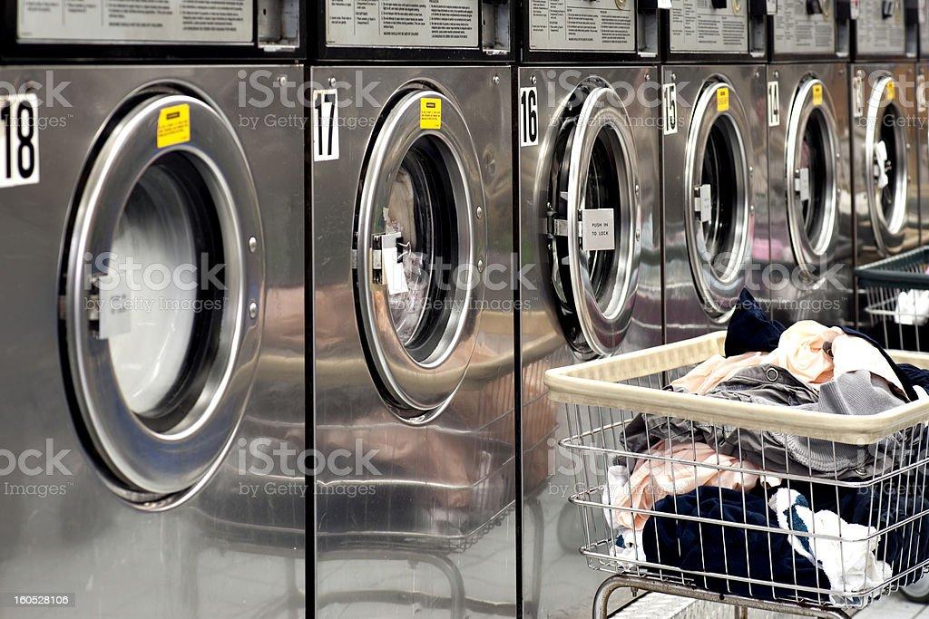 washing machines stock photo