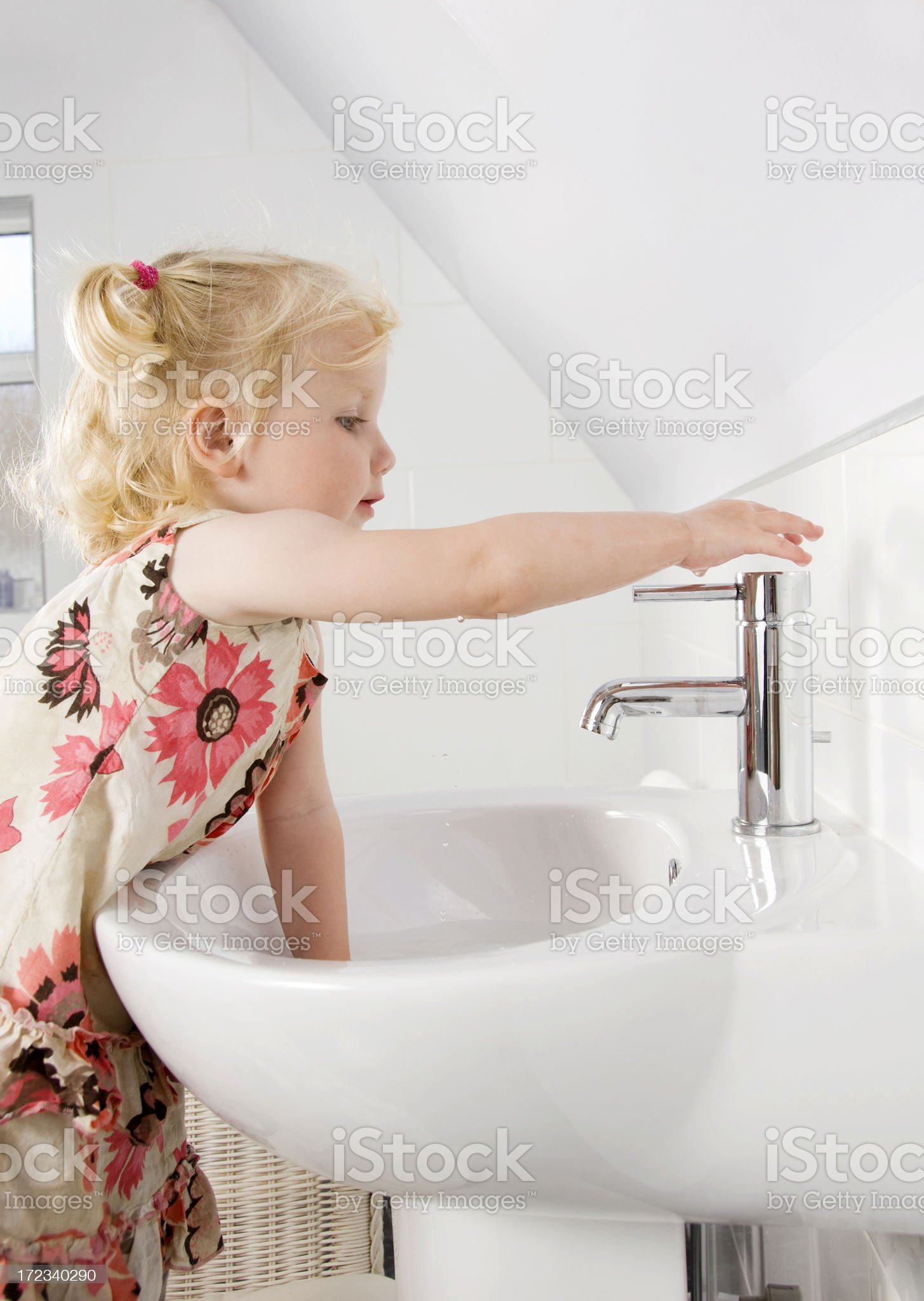 washing my hands royalty-free stock photo