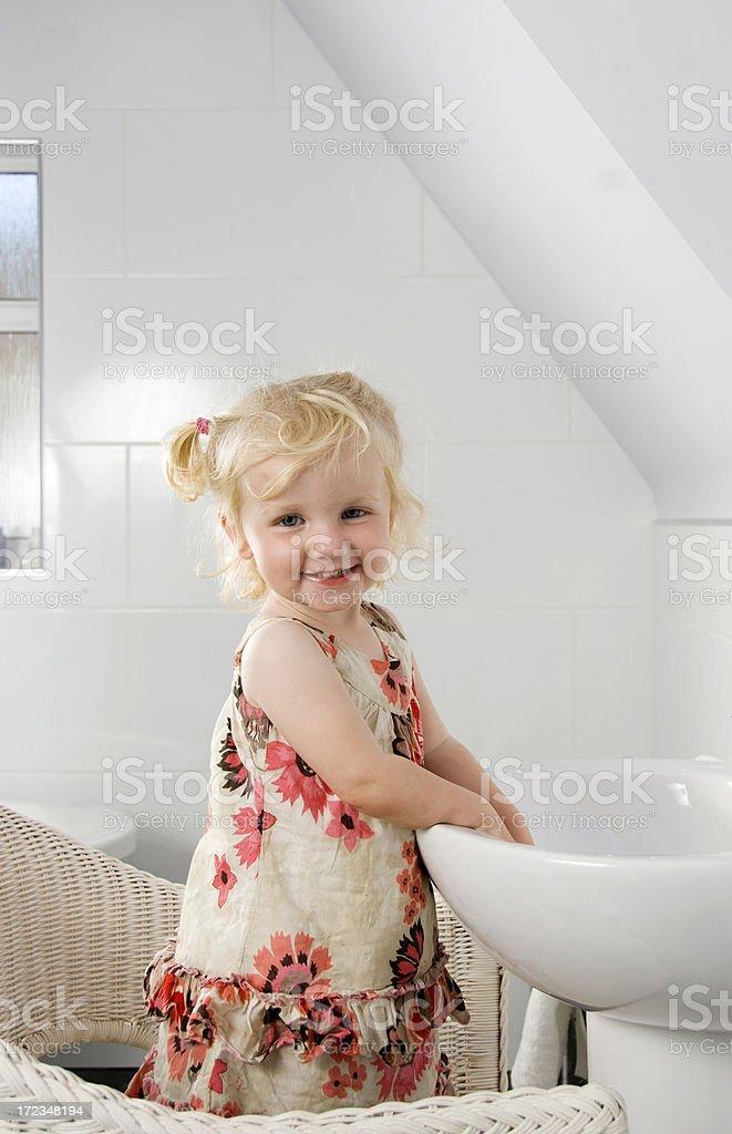 washing my hands royalty-free stock photo