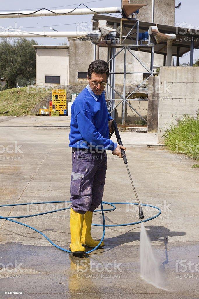 washing royalty-free stock photo