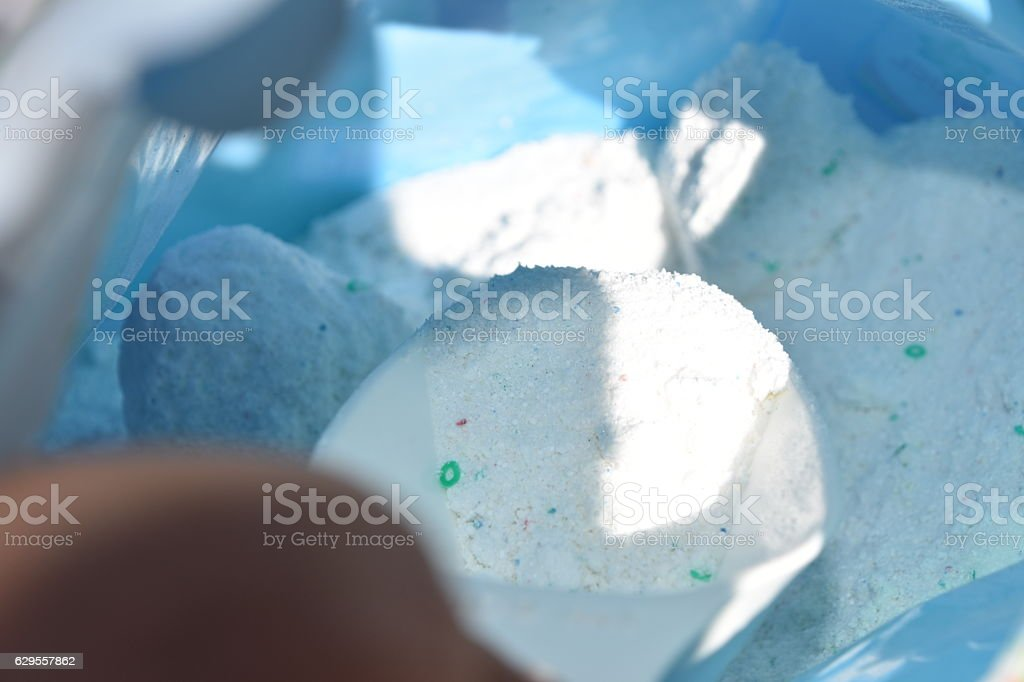 Washing Powder stock photo