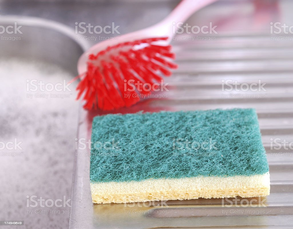Washing Up stock photo