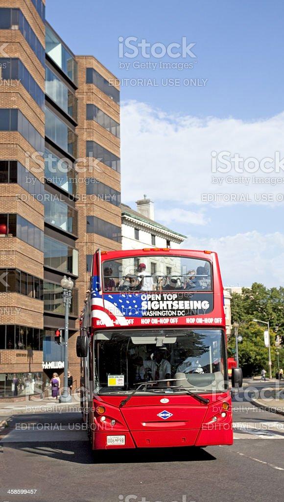 Washingtoc, D.C. Bus Tour stock photo
