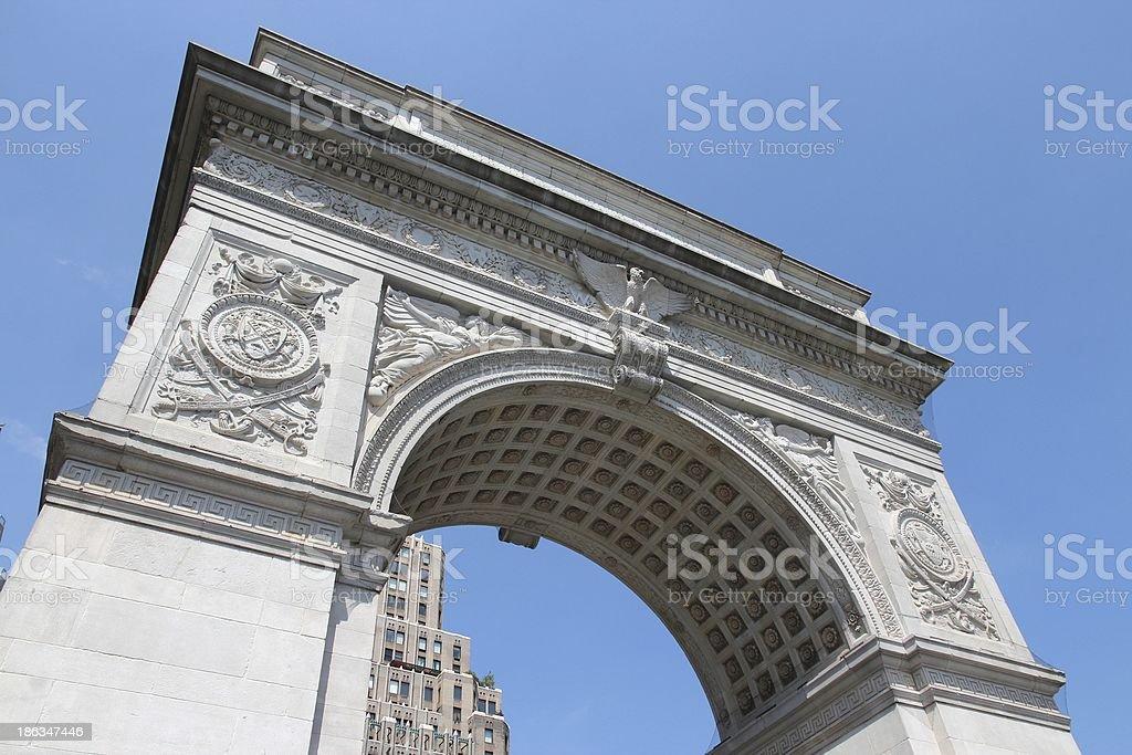 Washington Arch stock photo