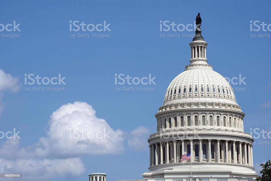 Washington Capitol Dome royalty-free stock photo