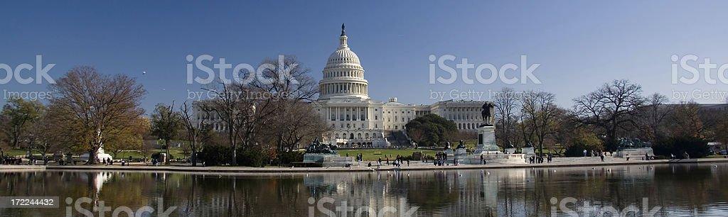 Washington Capitol royalty-free stock photo