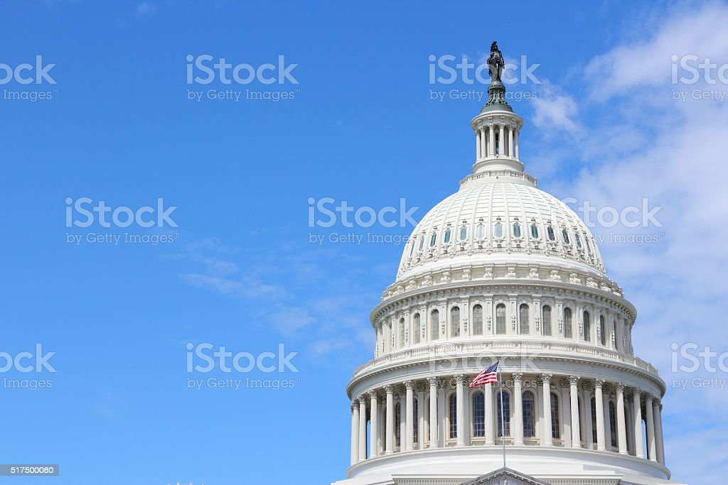 Washington Capitol stock photo