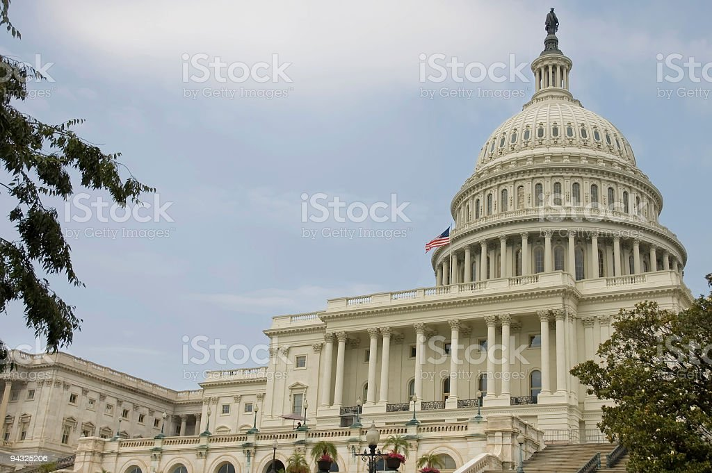 Washington Capitol royalty-free stock photo