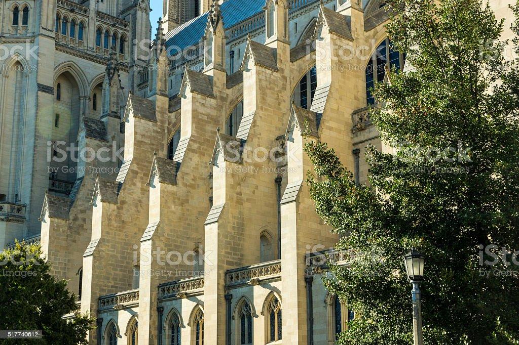 Washington Cathedral Detail stock photo