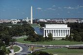 Washington, DC, aerial  photograph