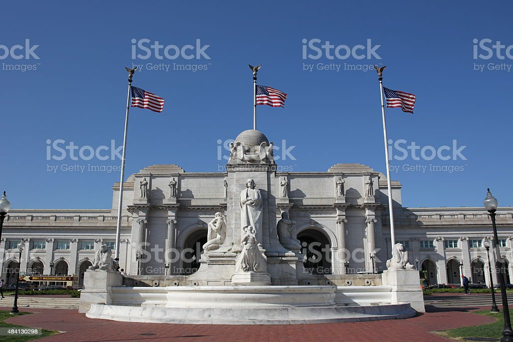 Washington DC April 24, 2015 stock photo