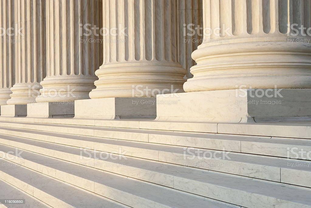 Washington DC Architectural Detail stock photo