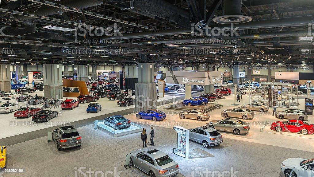 Washington, D.C. Auto Show stock photo