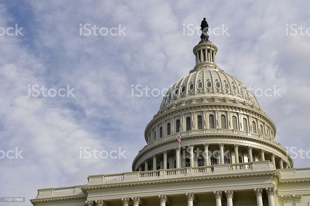 Washington DC Capitol Building Dome stock photo