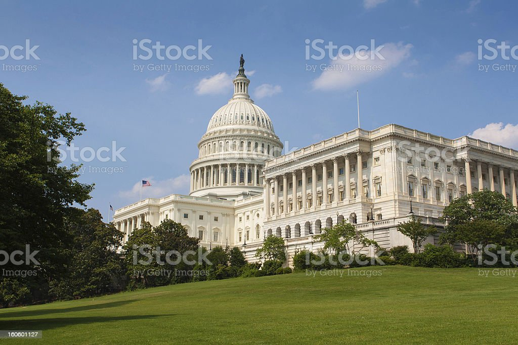 Washington DC Capitol stock photo