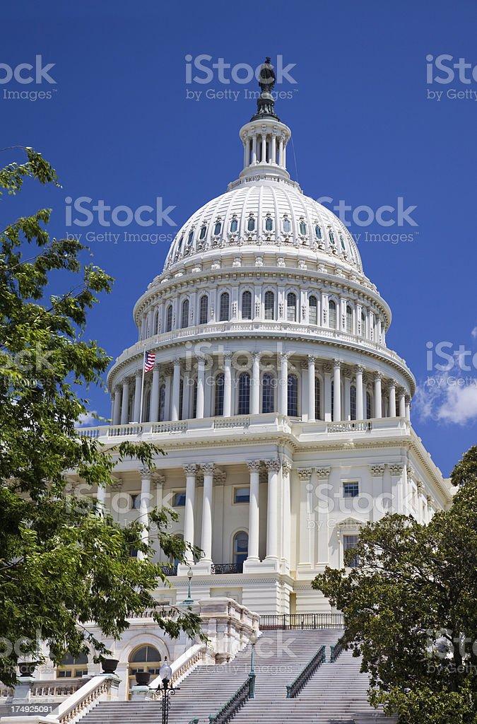 Washington DC, Capitol stock photo