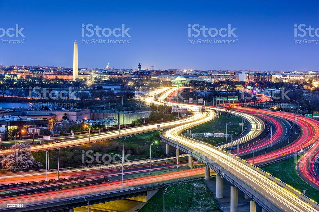 Washington, DC City Skyline stock photo