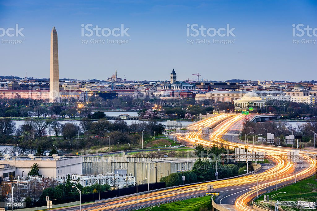 Washington DC Cityscape stock photo