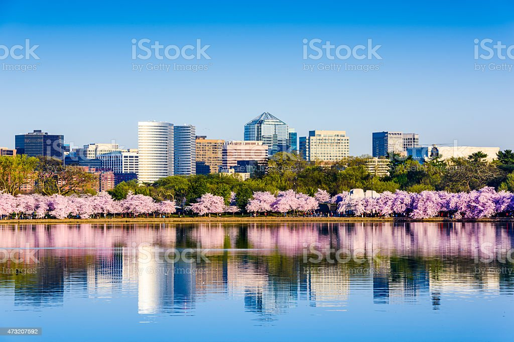 Washington, D.C. Cityscape stock photo