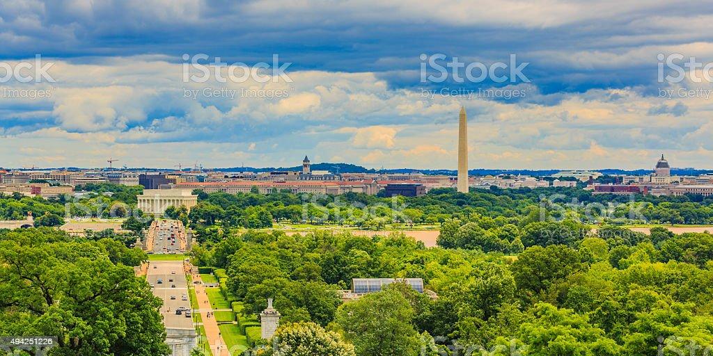 Washington DC Cityscape stock photo